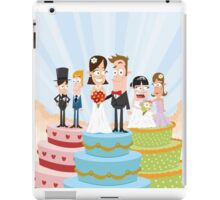 Wedding Party iPad Case/Skin