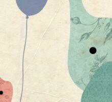Rabbit and Elephant Sticker