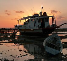 Low Tide on Nusa Lembongan by benwaa