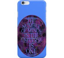ONE is the number iPhone Case/Skin