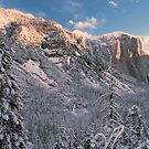 EL CAPITAN,WINTER MORNING by Chuck Wickham
