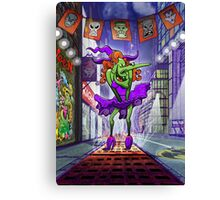 Halloween Sexy Witch Canvas Print