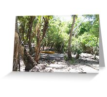 Paradise Decay Greeting Card