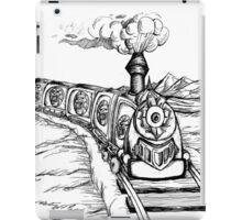 Fantastic Train Black iPad Case/Skin
