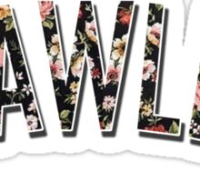 Flawless - Floral Print Sticker