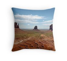 Monument Valley Utah Throw Pillow