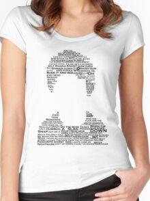 Alex Turner Lyrics Women's Fitted Scoop T-Shirt