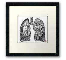 Lungs Framed Print