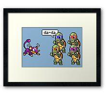 Da-Da Framed Print