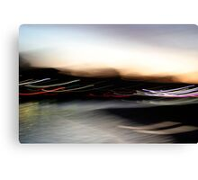 An Early Morning Blur Canvas Print