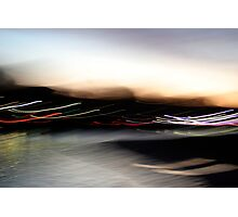 An Early Morning Blur Photographic Print