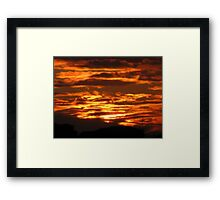 Isn't God Amazing II? Framed Print