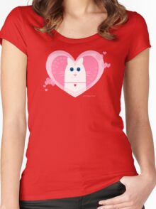 LOVE YOU Women's Fitted Scoop T-Shirt