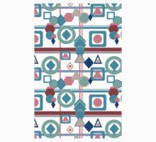 Geometric Spring Pantone Palette Kids Tee