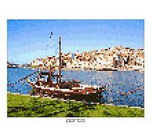 Pixel Art Cities: Porto Photographic Print