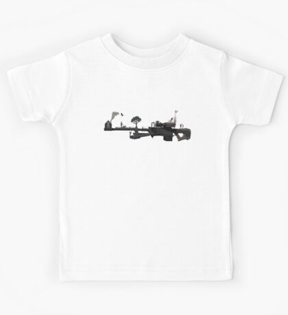 sniper - love and peace Kids Tee