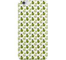 Dainty Little Green and Yellow Ladybugs iPhone Case/Skin