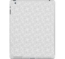 Geometric madness iPad Case/Skin
