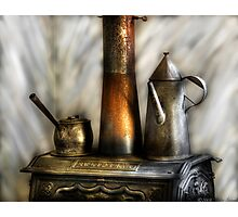 The Stove and Kettle Photographic Print