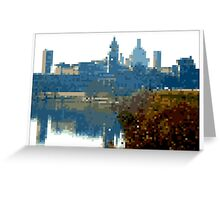Pixel Art Cities: Mantova Greeting Card