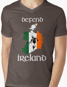 defend ireland - flag Mens V-Neck T-Shirt