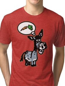 The Carrot by Cheerful Madness!! Tri-blend T-Shirt