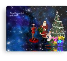 Merry Christmas to all of my friends Metal Print