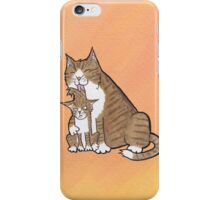 Mother Cat iPhone Case/Skin