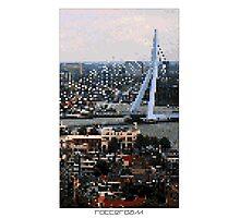 Pixel Art Cities: Rotterdam Photographic Print