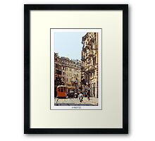 Pixel Art Cities: Milan Framed Print