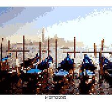 Pixel Art Cities: Venice by Elena Kartseva