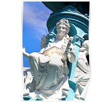 Memorial Fountain Poster