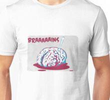 Brain [is] food Unisex T-Shirt