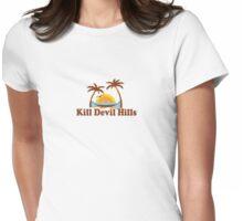 Kill Devil Hills - OBX. Womens Fitted T-Shirt