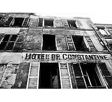 Destroyed hotel Photographic Print