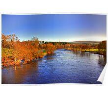 River Tay at Aberfeldy Poster