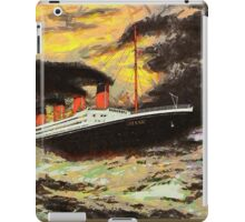 RMS Titanic in the Style of the Masters - all products iPad Case/Skin