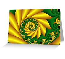Nature Spiral Greeting Card