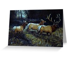 """""""Forest Royalty"""" Greeting Card"""