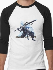 Artorias out of the abyss! - Knight Artorias Text Men's Baseball ¾ T-Shirt