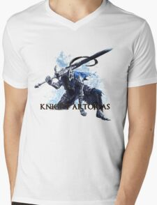 Artorias out of the abyss! - Knight Artorias Text Mens V-Neck T-Shirt