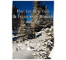 Wishes for a New Year Poster