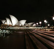 The Sydney night - 4 by houenying