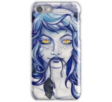 CAT GIRL, YELLOW EYES and RATS iPhone Case/Skin
