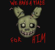 """We have a place- """"Spring Trap"""" Unisex T-Shirt"""