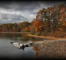 Autumn Dock by Tim Holmes