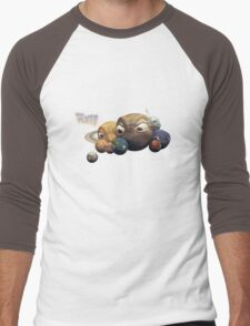Poor Pluto T-shirt Men's Baseball ¾ T-Shirt
