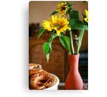 Sunflower Delight Canvas Print
