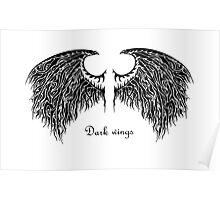 Dark wings Poster