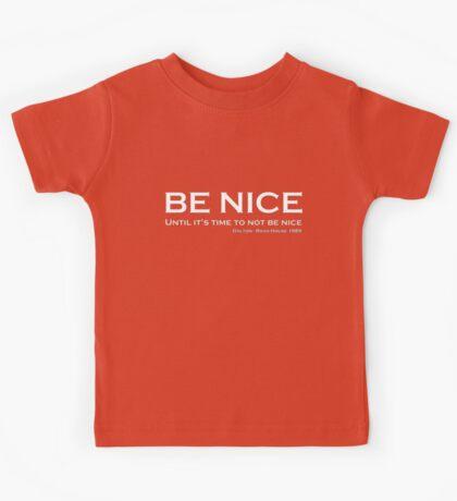 Road House - Be nice Kids Tee